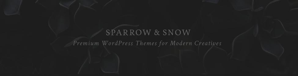 Sparrow & Snow
