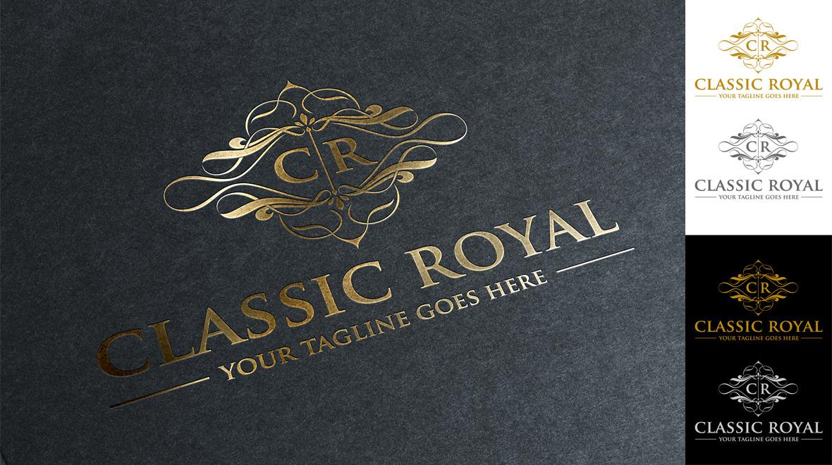 classic - royal logo