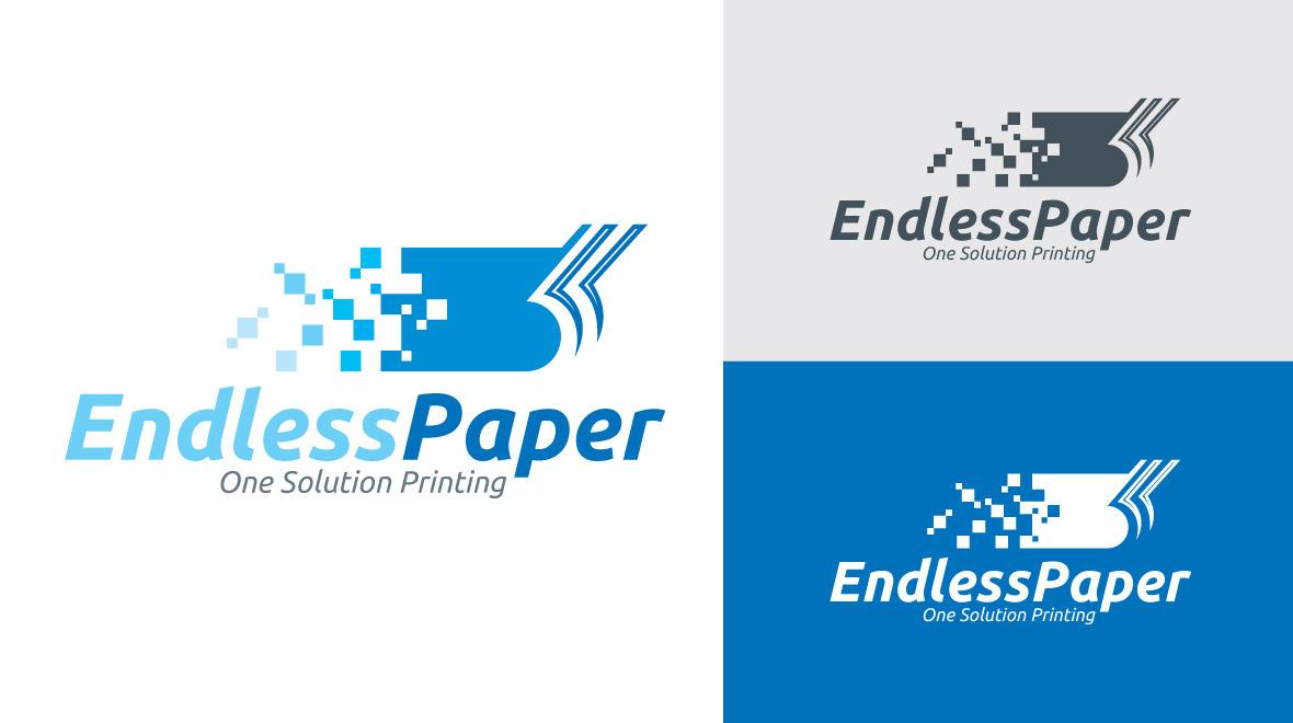 Endless Paper Logo Logos Amp Graphics