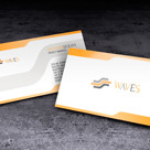 Creative Business Card – Waves