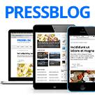 PressBlog Drupal Theme