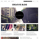 Creative Blog Responsive Theme