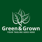 Green & Grown Logo