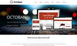 Octoban - Responsive Multi-purpose Drupal 7 Theme