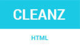 Cleanz - Parallax One Page HTML Template