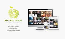 Digital Pixel - Responsive Joomla Template
