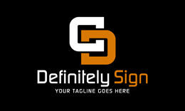 Definitely Sign Logo