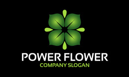 Power Flower Logo