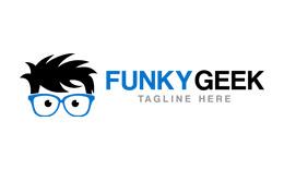 Funky Geek Logo