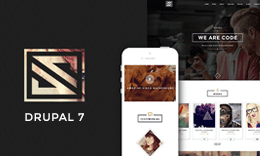 Vastudio - Creative One Page Drupal Theme