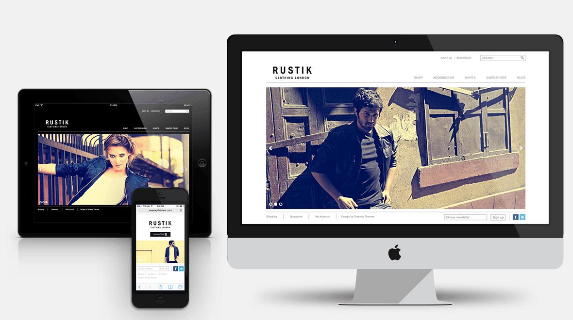 Rustik - Minimalist WooCommerce WordPress Theme