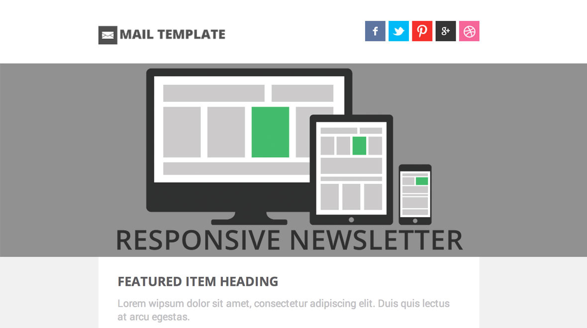 email templates responsive