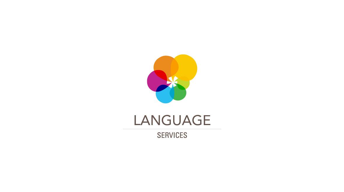 language logo: