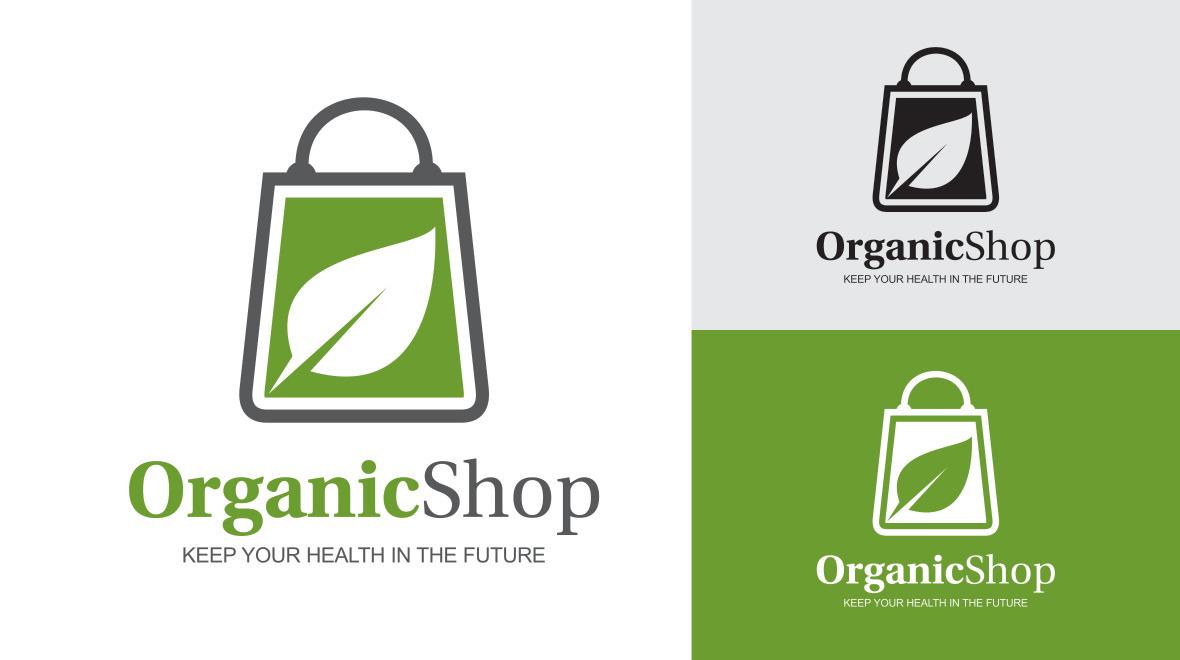 Organic Shop Logo Logos Graphics