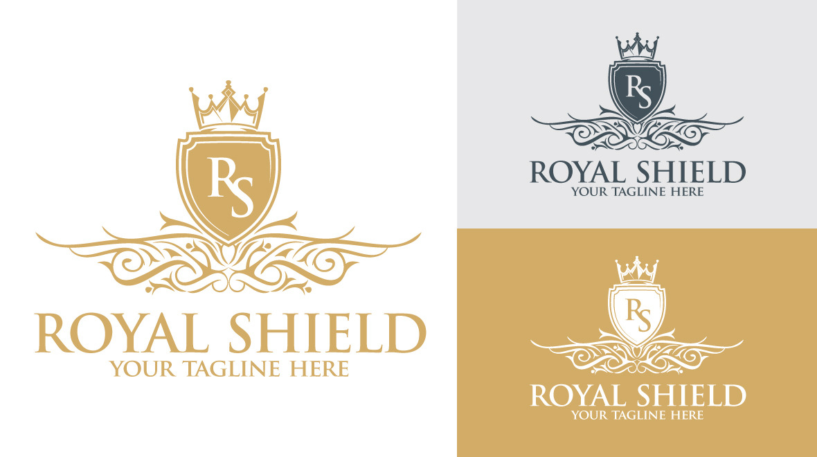 royal - shield logo
