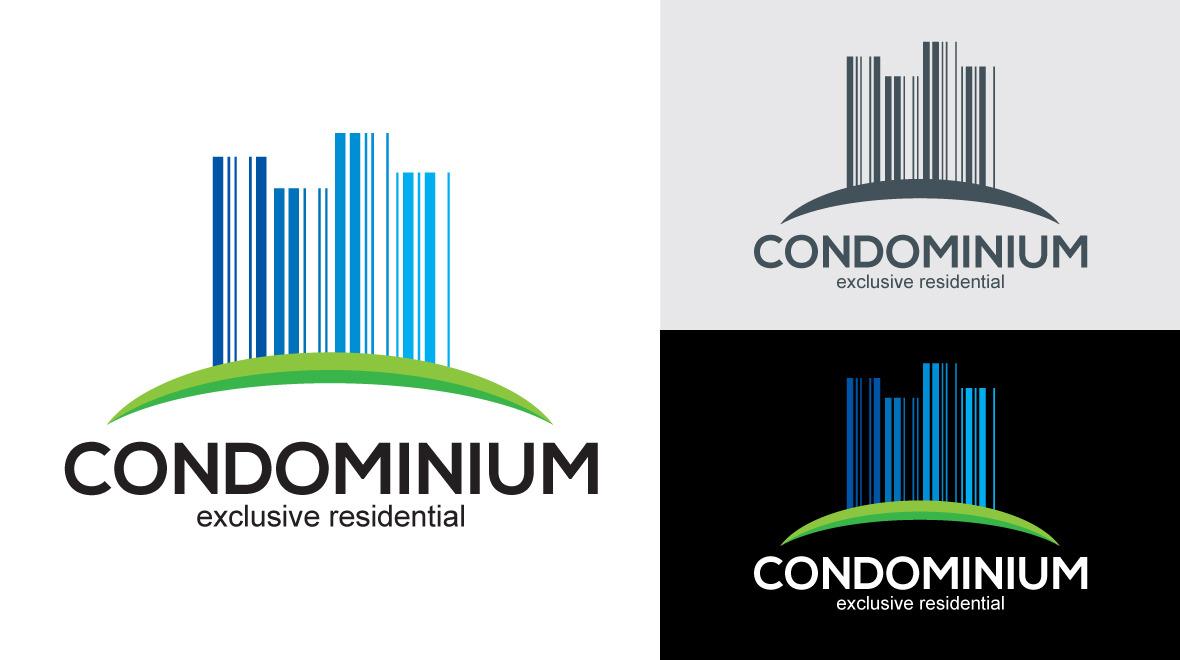 condominium logo logos amp graphics