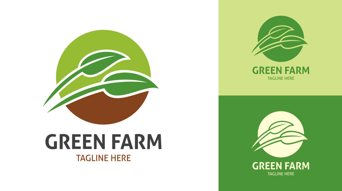 Green Farm Logo Logos Amp Graphics