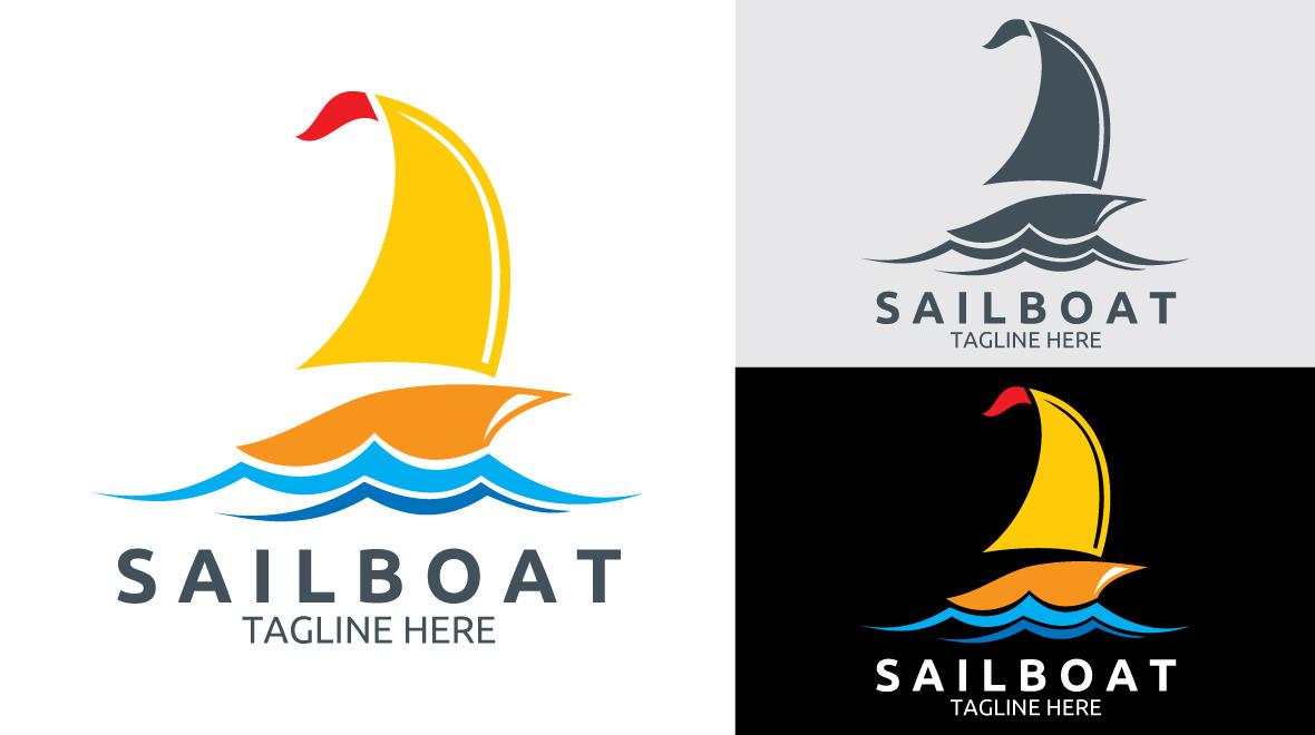 Sailboat - Logo - Logos & Graphics