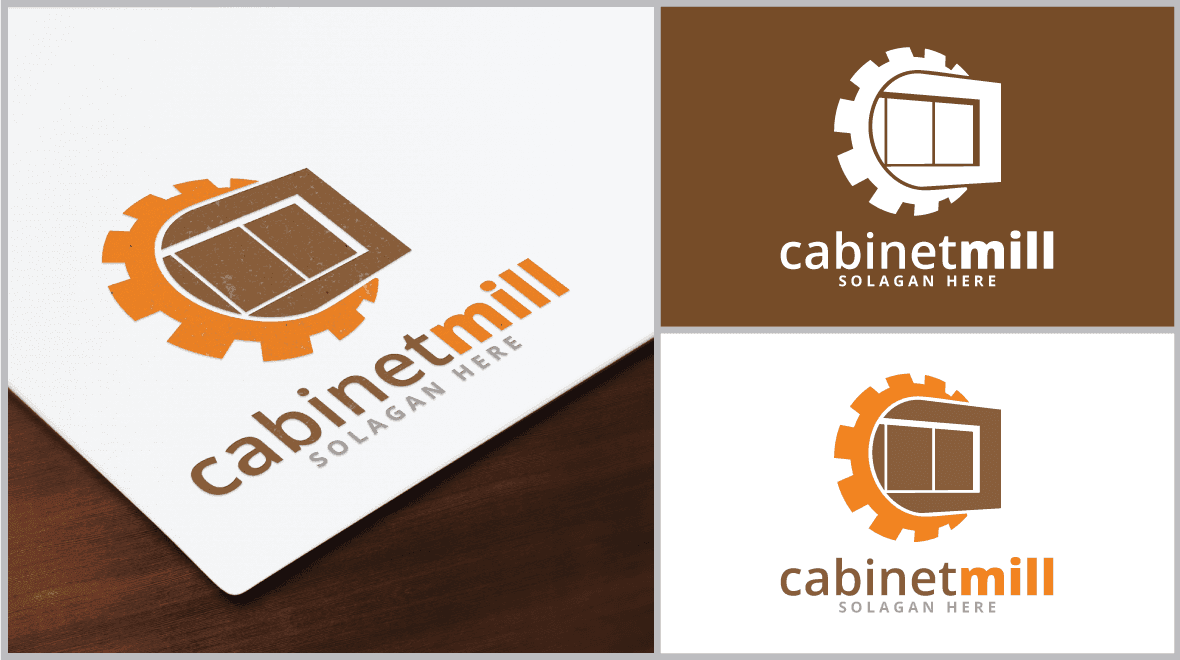 kitchen logo design cabinet mill logo template logos amp graphics 2247