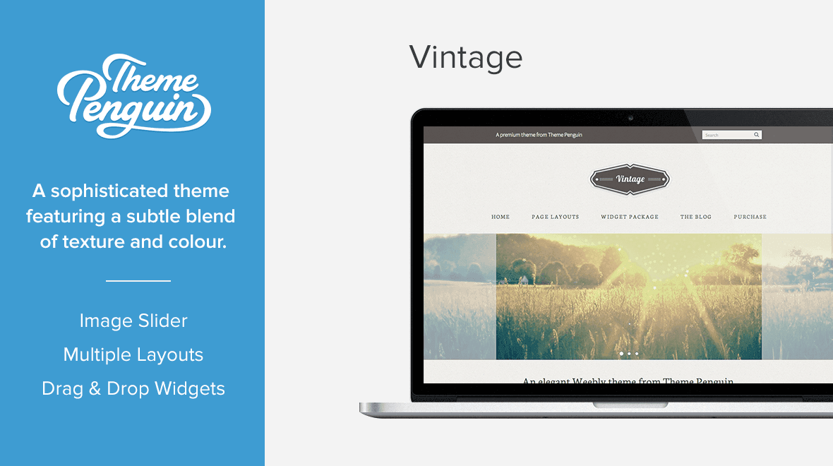 Vintage - Weebly Theme - Themes & Templates