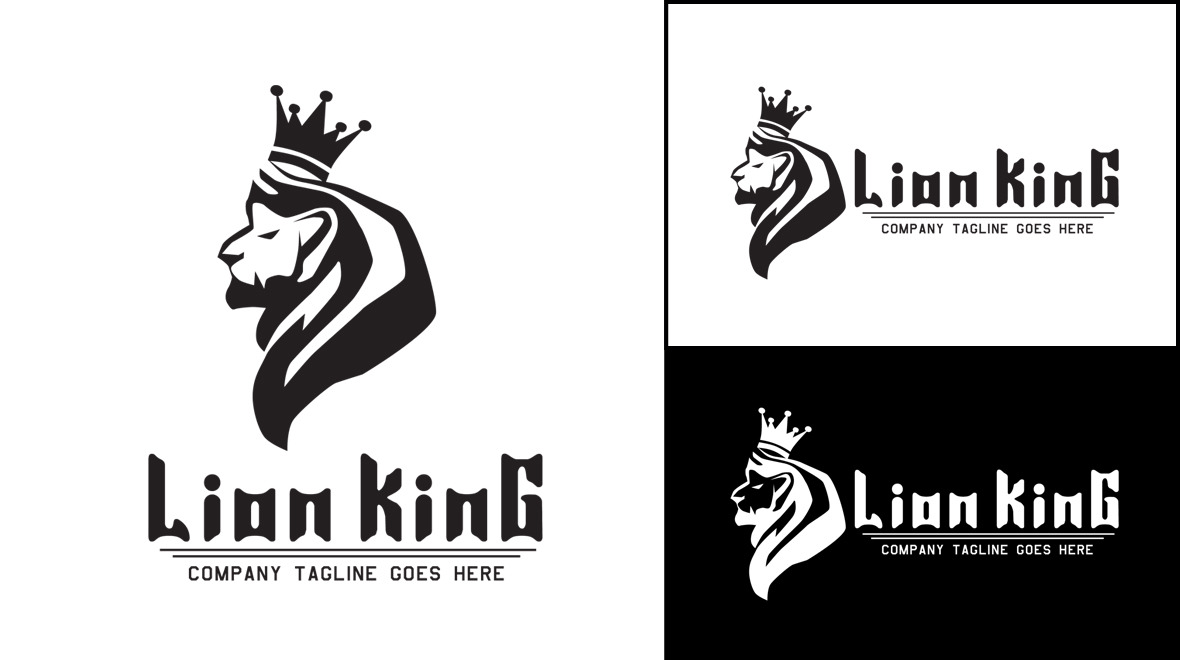 Lion - King Logo - Logos & Graphics