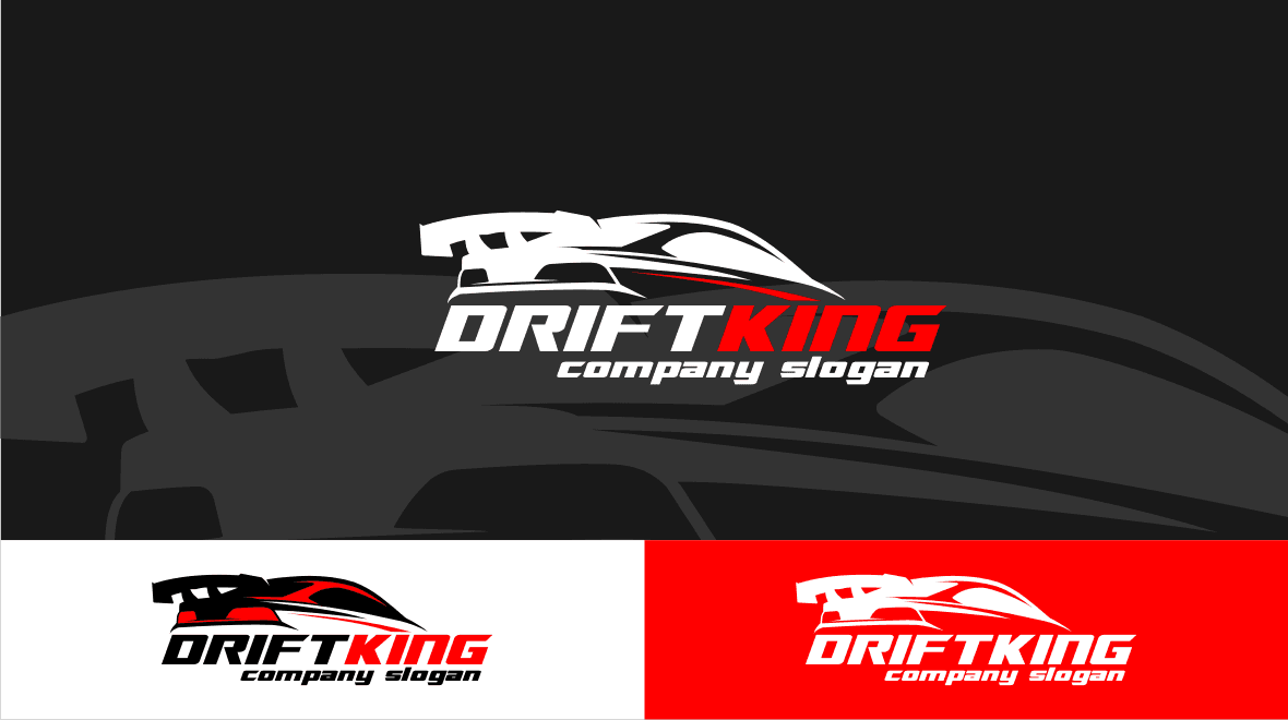 Drift - King Logo Template - Logos & Graphics