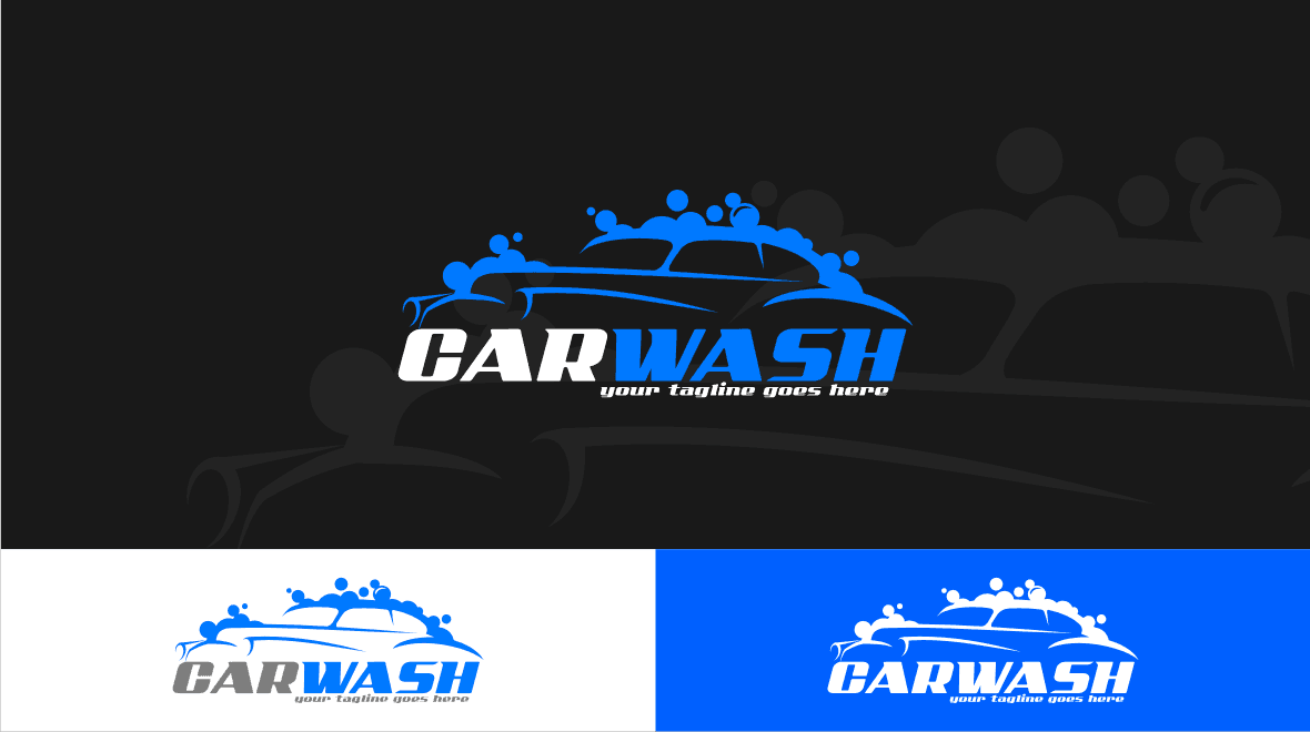 car - wash logo template - logos & graphics