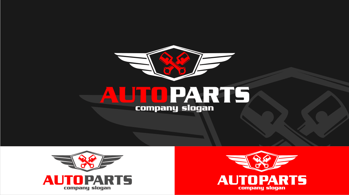 Auto Parts Logo Template Logos Graphics