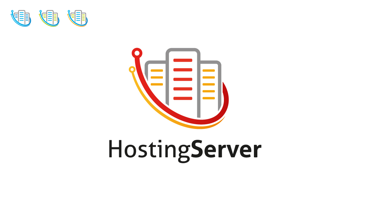 hosting server logo logos graphics
