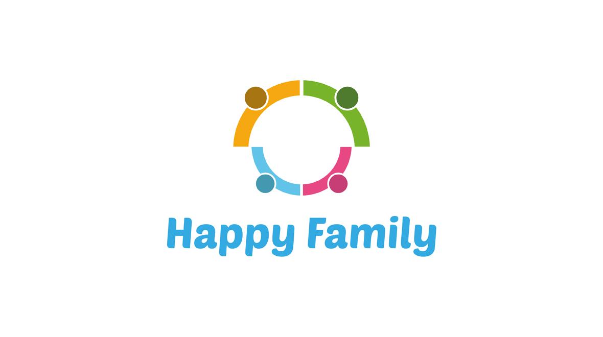 happy family logo logos graphics