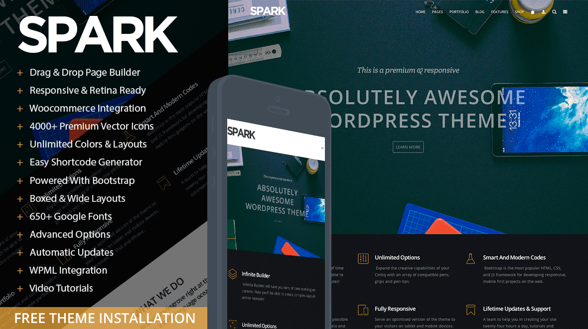 Spark WordPress Theme