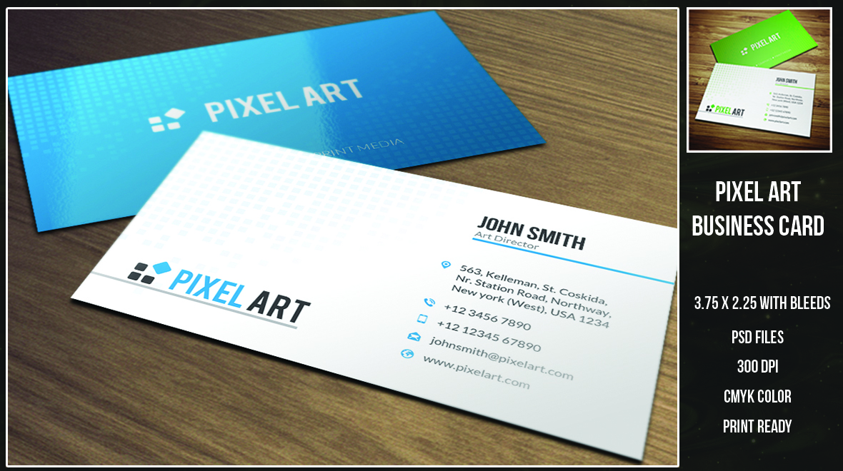 Pixel - Art Business Card_034 - Logos & Graphics