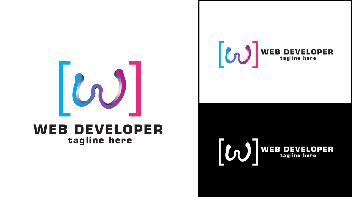 web - developer logo