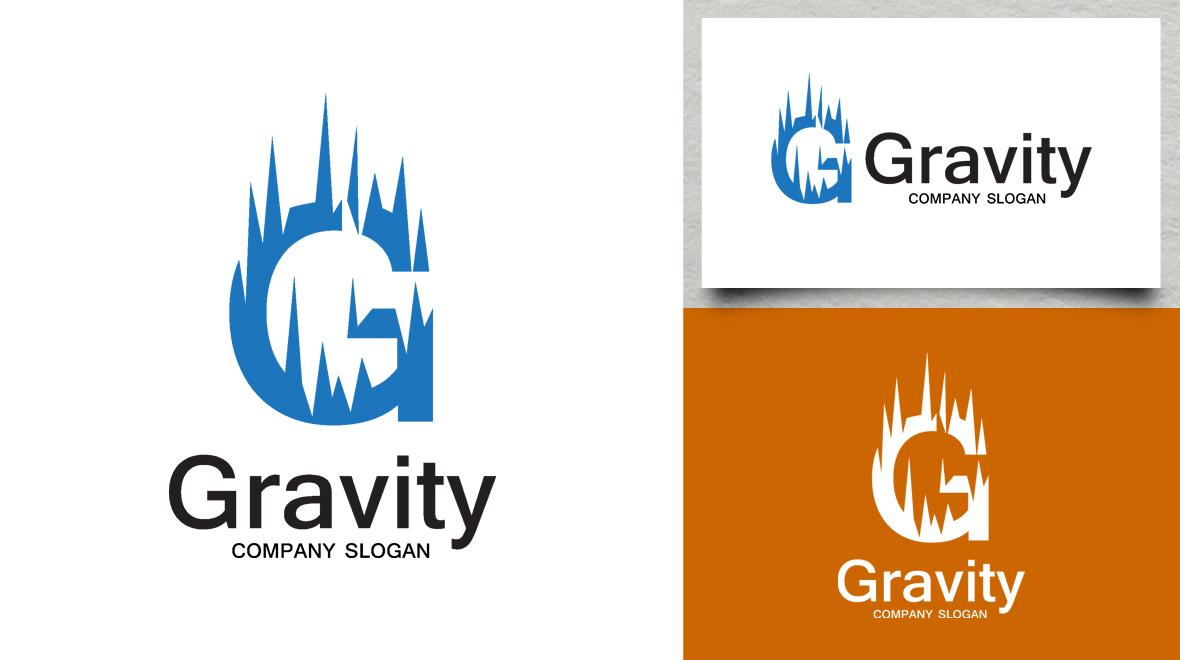 letter - g - gravity logo
