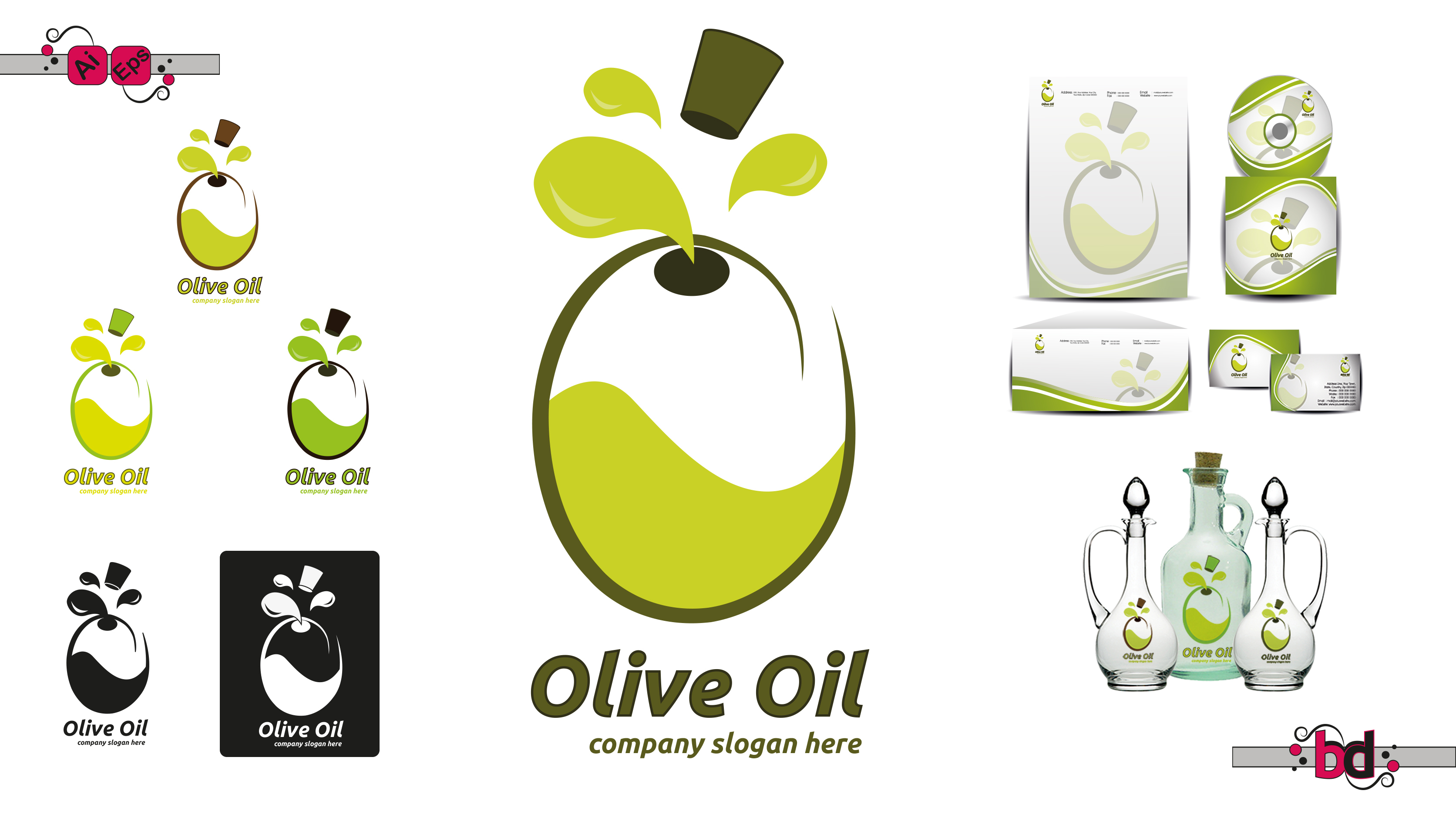 Olive Oil Logo Logos Amp Graphics