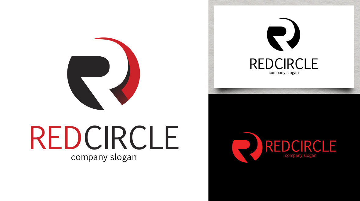 Red Circle With R Logo Red - Circle - Letter ...