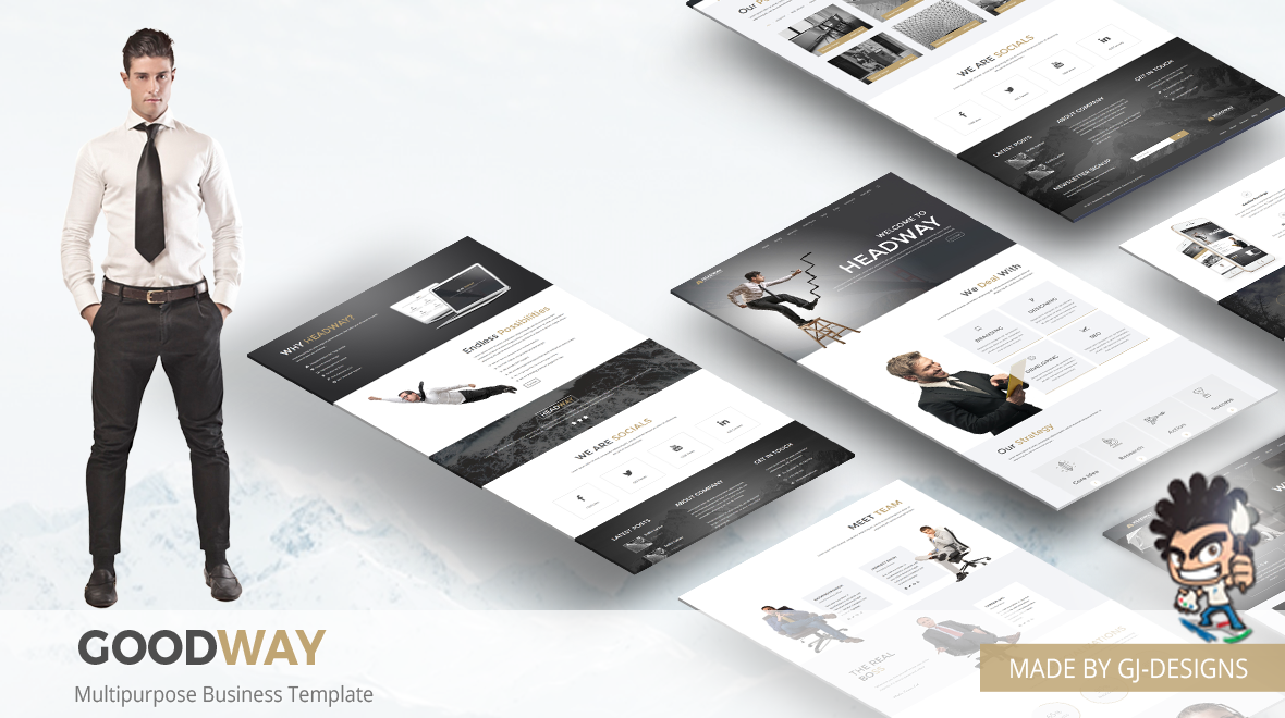 Goodway - Multipurpose Business Template