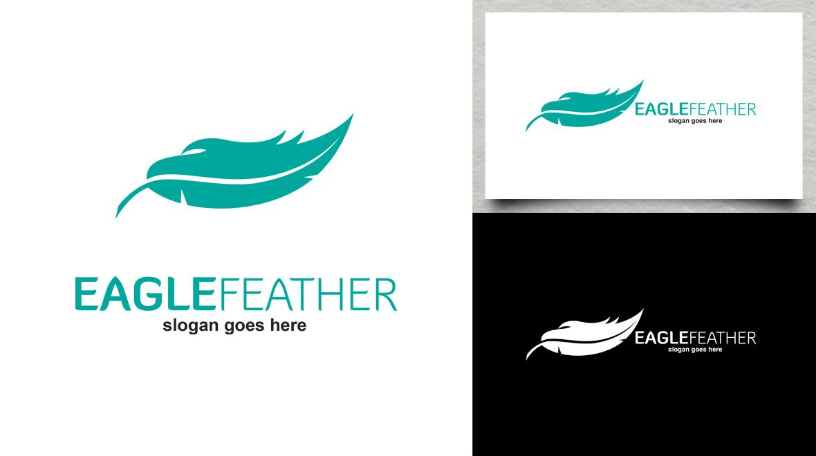 Eagle Feather Logo Logos Amp Graphics