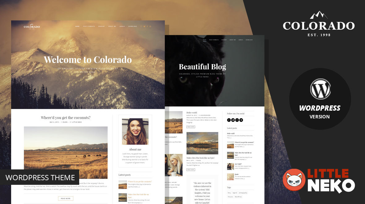 Colorado | WordPress Blog Theme