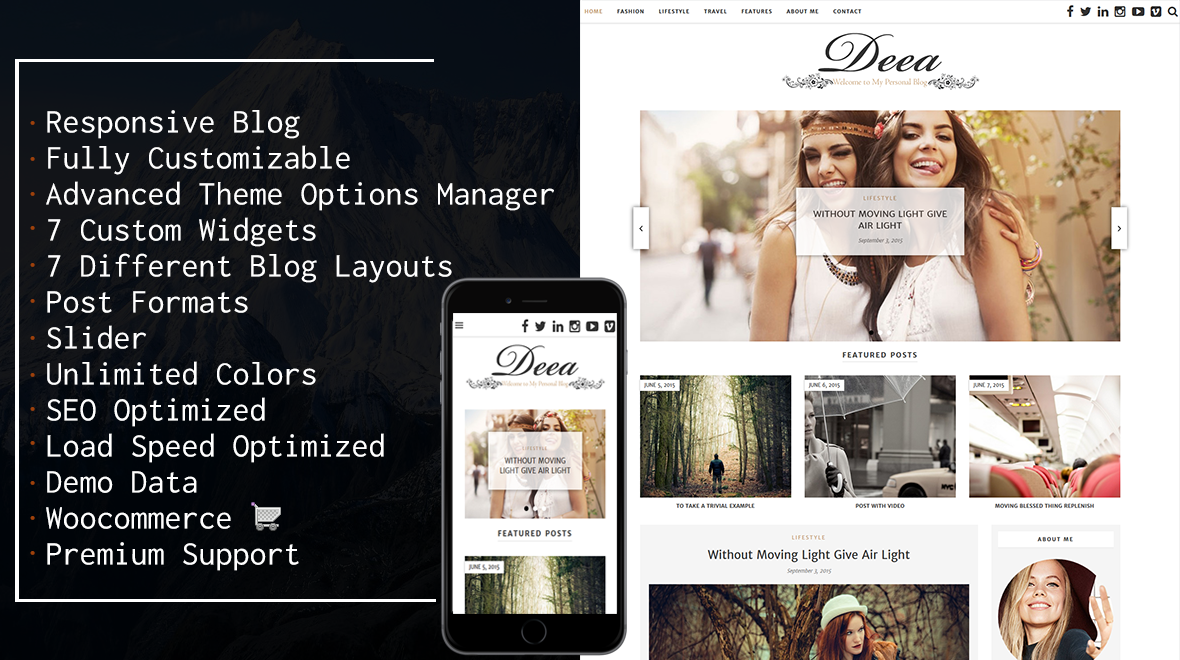 Deea - WordPress Blog Theme