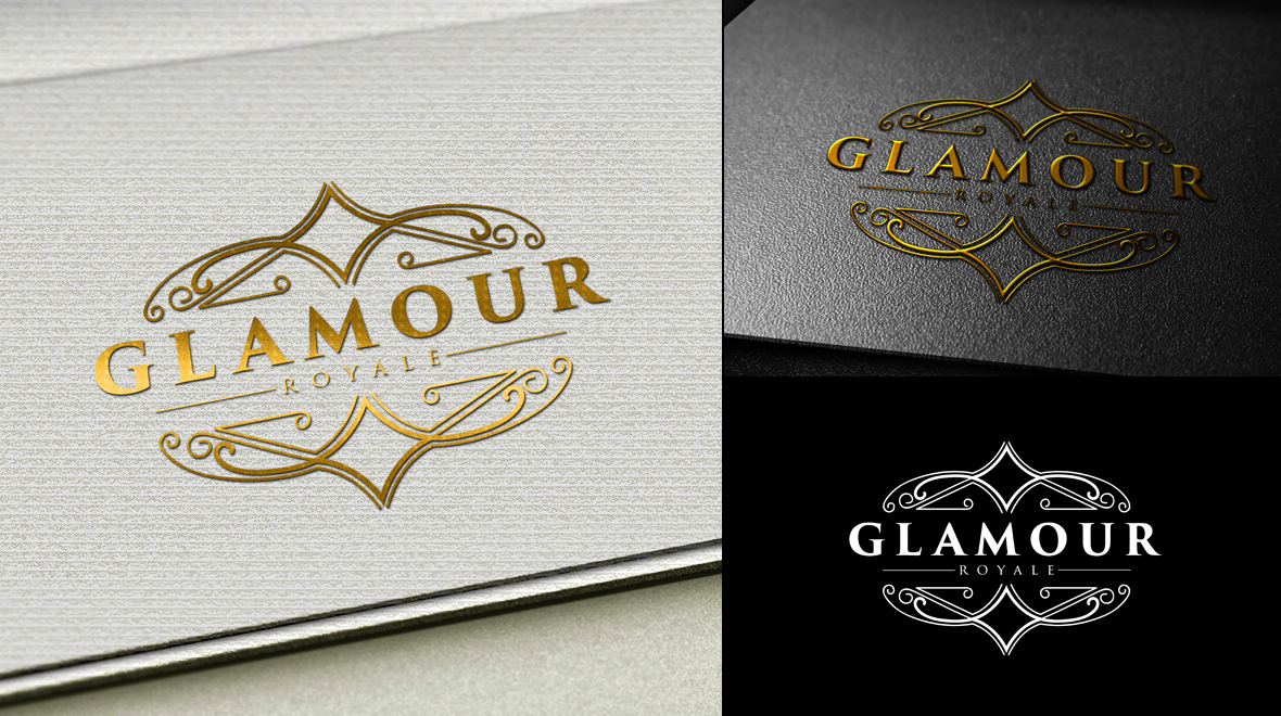 glamour royal logo logos amp graphics