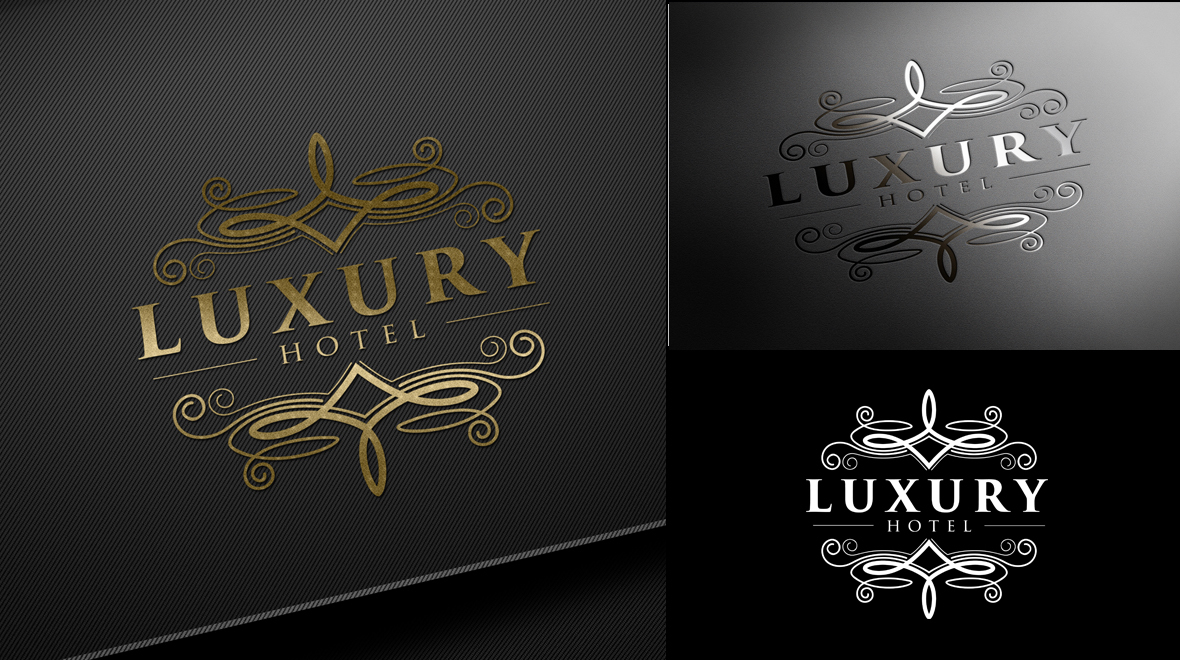 Luxury hotel logo logos graphics for Luxury hotel logo