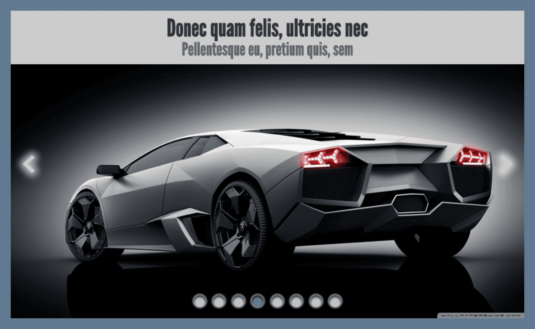 The new code HTML5 Responsive Image Slider With Captions
