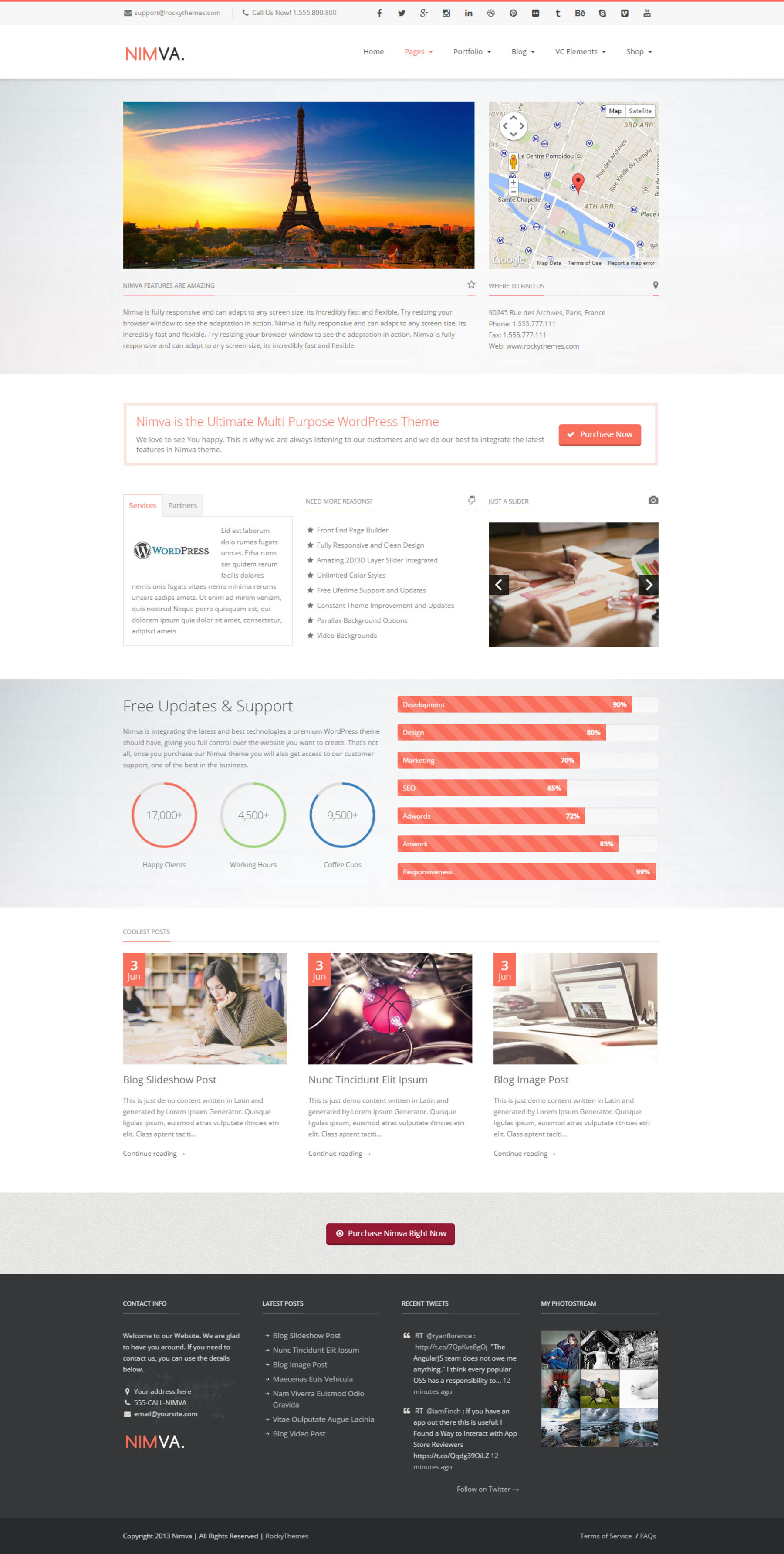 Ultimate Multi Purpose WordPress Theme