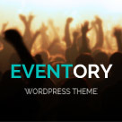 Eventory - Event WordPress Theme