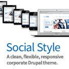 Social Style Drupal Theme