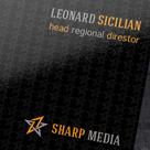 Sharp Media Business Card
