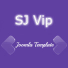 SJ Vip - Special Joomla template for personal or social websites