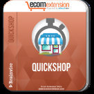 Magento Quick Shop Extension