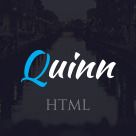 Quinn - One Page Business Template